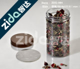 Haute qualité Eco-Friendly 60g 100g 180g Double Wall Plastic Jar