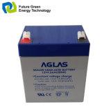 kleine nachladbare gedichtete Leitungskabel-Säure-Batterien AGM-12V4.5ah für Warnung