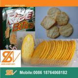 El arroz redondo saltara las máquinas de la producción de las galletas