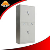 Cabinete de archivo de acero del almacenaje de la oficina de la puerta de oscilación