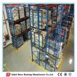 Equipamento de cremalheira de armazenamento resistente da alta qualidade de China, cremalheiras da pálete do armazenamento do metal