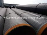 Tubo de acero espiral del API 5L X42 de la tubería de la transmisión del agua