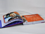 Papier photo Hard Cover Magazine Printing Book Printing