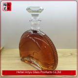 Empfindliche Flaschen-Wein-Flasche des Kristallglas-750ml