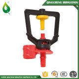 Tipo diritto spruzzatore di plastica rosso di irrigazione del giardino
