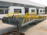 Preço hidráulico móvel arrastado da rampa da Patim-Prova para o carregamento do recipiente