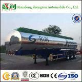 3 de Tanker van de Aanhangwagens van de Stookolie van het Aluminium en van het Staal van de as