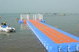 Embarcadero plástico flotante el pontón