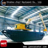 Amphibious Excavator Jyae-332를 가진 땅과 Water Dredging Excavator