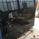 氷の建築材料のための黒いチューリップの大理石の平板