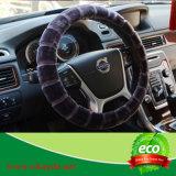 Pelliccia artificiale della pelliccia del Faux del fodero del volante dell'automobile della peluche
