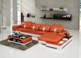 Mobília da sala de visitas de Europa do couro branco de G8015c