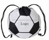 Sac de cordon Shaped de basket-ball du football avec le logo personnalisé