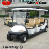 Carrello di golf del gas di 6+2 Seater