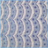 Tessuto africano del merletto del cotone di Tasseles di modo (6227)
