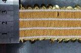 Mais fita brilhante do laço dos Sequins bem escolhidos da cor para o vestido da dança