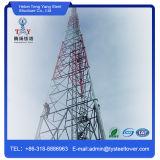 Стальная башня телекоммуникаций Gitter Abgespannten Masten с 3 ногами