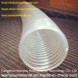 Tubo de fio de aço transparente de PVC / mangueira transparente alta
