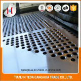Feuille perforée/plaque d'acier inoxydable de Tisco