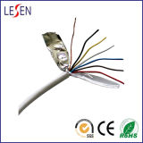 Uma segurança de 4 núcleos/o cabo alarme de assaltante com protetor, CE aprovou