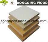 MDF laminado papel de la melamina del blanco 18m m con el mejor precio