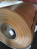 Couleur de PE/PVDF enduisant la bobine en aluminium des graines en bois