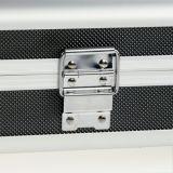 Nouveau ! L'armature en aluminium fermant à clef l'entreposage en dur boîte de serrure de pistolet de Smith de pistolet portent la valise