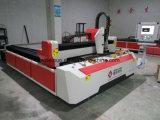 Edelstahl-Metallfaser-Laser-Ausschnitt-Maschine CNC-500With1000W