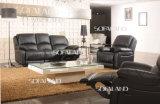 Venta negra del receptor de papel del color y en el sofá del Recliner del cuero de la promoción