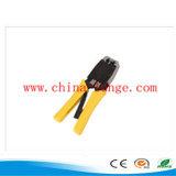 Ferramenta de friso para o cabo da fibra