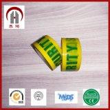 Afgedrukte het Embleem van de douane kleurde Plakband voor het Verzegelen en Verpakking