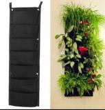 7つの小型の屋内屋外の壁掛けプランター袋のプラントは袋を育てる