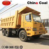 Mijnbouw HOWO 70 Ton van de Vrachtwagen van de Stortplaats