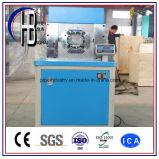 Máquina que prensa del manguito de la fanfarronería del corte automático de alta presión del alambre