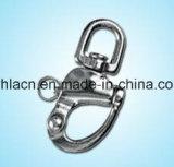 Gancho de leva rápido de Hangging de los accesorios de Keychain del bastidor de la precisión (acero inoxidable)