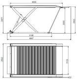 El CE Scissor la elevación Scissor la herramienta de la reparación de la elevación