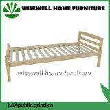 固体マツ木単一の折畳み式ベッドのベッド