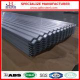 Strato galvanizzato tetto normale del ferro ondulato dello zinco del lustrino