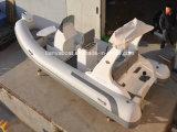 Barco inflable de los barcos de Liya los 3m-8m del motor de la costilla blanda del bote