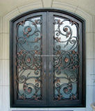Kundenspezifische dekorative Rod-Eisen-Großhandelstüren