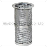 Elemento filtrante perforato del cestino della rete metallica dell'acciaio inossidabile