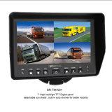 7 인치 TFT-LCD 쿼드 전시 화면 모니터