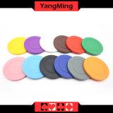 As microplaquetas do póquer do ABS cor dedicada/contínua da roleta podem ser o logotipo Ym-RP01 feito sob encomenda ou da cópia