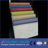 Prix couvert de tissu insonorisant de panneau de mur d'acoustique de velours