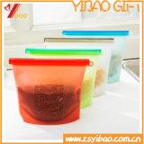 Bolsos del almacenaje del silicón de la alta calidad de la categoría alimenticia de los utensilios de cocina del silicón (XY-SSB-164)