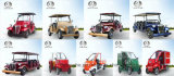 4 Sitzcer-anerkannte elektrische Weinlese-Karren-Golf-Karre
