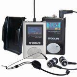 Радиотелеграф UHF в системе микрофона контроль канала уха Multi