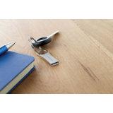 주문을 받아서 만들어진 로고를 가진 소형 알루미늄 USB 섬광 드라이브