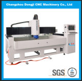 Машина горизонтального 3-Axis края CNC стеклянного обрабатывая для стекла формы