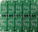 緑の二重側面PCBの製造業Fr4の2layer